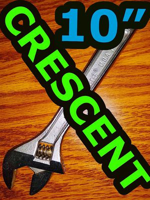 """CRESCENT 10"""" Adjustable Wrench, Outstanding condition, look near new for Sale in Glen Ellyn, IL"""