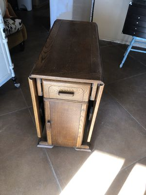 Antique folding table for Sale in Tucson, AZ