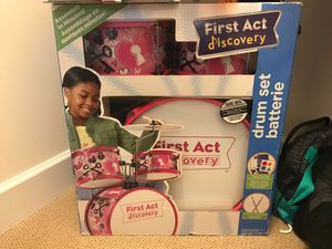 First Act Discovery drum set for Sale in Manassas, VA