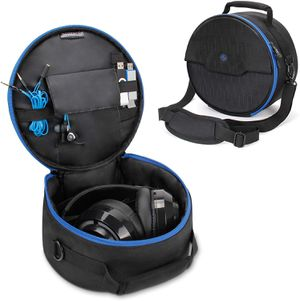 ENHANCE Portable Headphone Case for Wired & Bluetooth Wireless Headsets - Compatible with Beats, Bose, Sony and More for Sale in Sterling Heights, MI