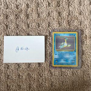 Pokemon Cards Lapras for Sale in San Juan Capistrano, CA