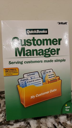 Quickbooks / Intuit Customer Manager for Sale in Chandler, AZ