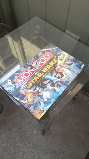 Starwars Saga Edition Monopoly board game for Sale in Citrus Heights, CA