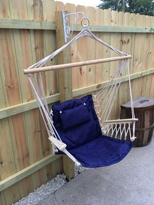 Brand new! Hammock Chair Patio Porch Yard Tree Hanging Air Swing Seat Rope Chair Indoor/ Outdoor for Sale in Posen, IL