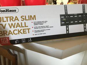 Ultra slim tv wall tilt bracket for Sale in Sterling, VA