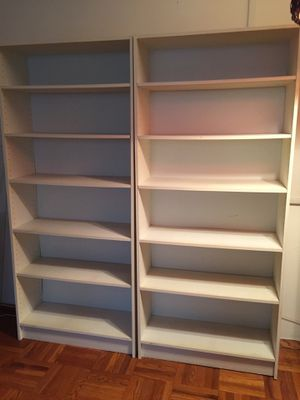 4left - bookshelves - Take one or all for Sale in New York, NY