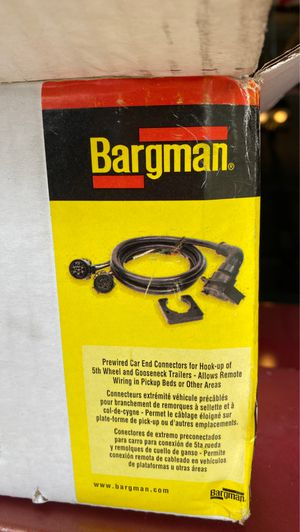 Bargman pick up to trailer wiring for Sale in Orlando, FL