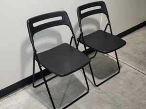 2 fold up chairs for Sale in Tempe, AZ