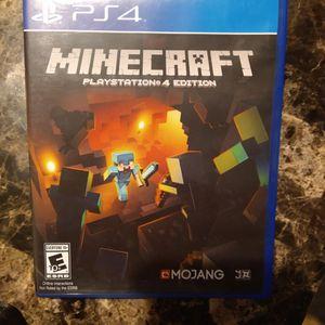 Minecraft Playstation Edition for Sale in West Warwick, RI