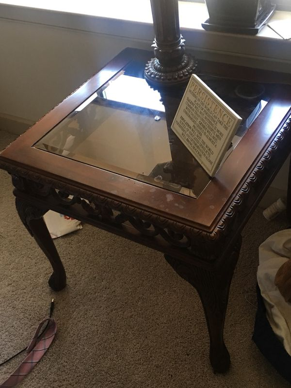 2 End Tables & Console Table retail $800