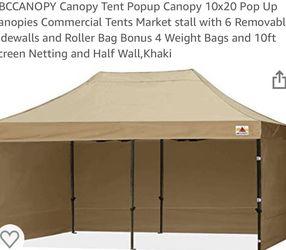 NIB *white* 10x20 Pop Up Canopy for Sale in Palm Beach,  FL