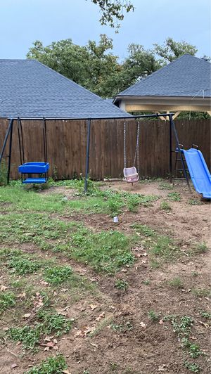 Kids swing set for Sale in Forest Hill, TX
