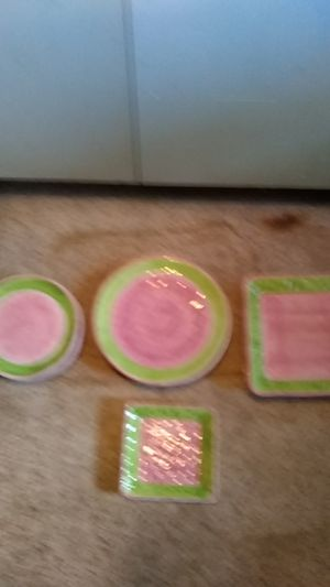 Pink and green kitchen set for Sale in Detroit, MI