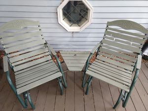 Dual Rocker/Swing Seats (Outdoor) for Sale in Downers Grove, IL
