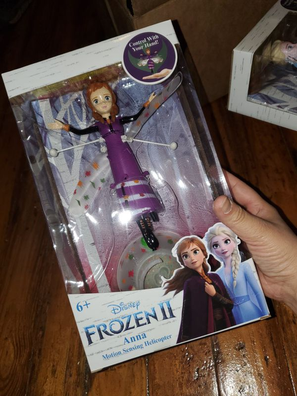 Anna frozen 2 flying collectable
