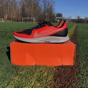 Nike Air Zoom Pegasus 36 Shield Habanero Red Mens Sz 12 Running Shoes AQ8005-600 for Sale in Philadelphia, PA