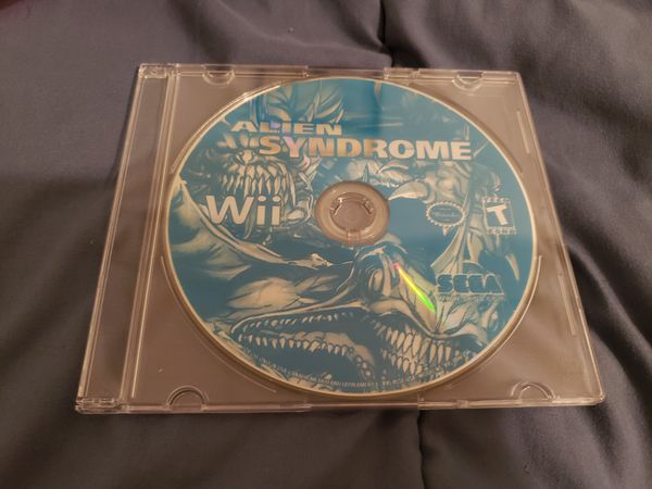 Alien Syndrome Wii Disc Only Tested