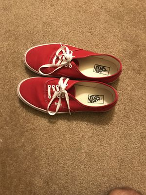 Red Vans Size 11.5 ($40) for Sale in Baltimore, MD