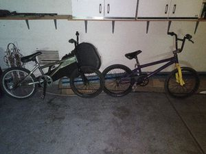 2 bmx bikes for trade for Sale in Henderson, NV