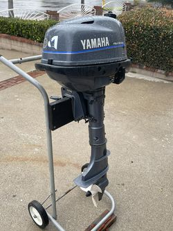 4hp 4 Stroke Yamaha for Sale in Rancho Cucamonga,  CA