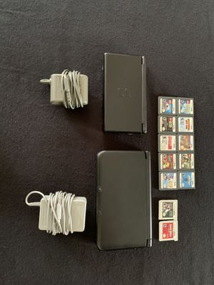 3DS xl, DS lite, 12 games, chargers for Sale in Brighton, CO