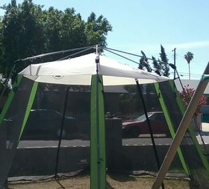 Coleman Canopy 13' x 15' Good Used Condition No Holes No Tears UV Protection for Sale in Phoenix, AZ