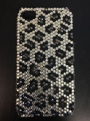 Bedazzled cheetah iPhone 5 case for Sale in San Diego, CA