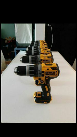 DEWALT 20 VOLT XR BRUSHLESS HAMMER DRILL 2 SPEED ( TOOL ONLY) NEW. NUEVO. $70. each. for Sale in Atlanta, GA