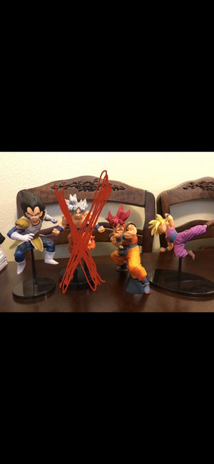 Dragonball Z action figures for Sale in Fontana, CA