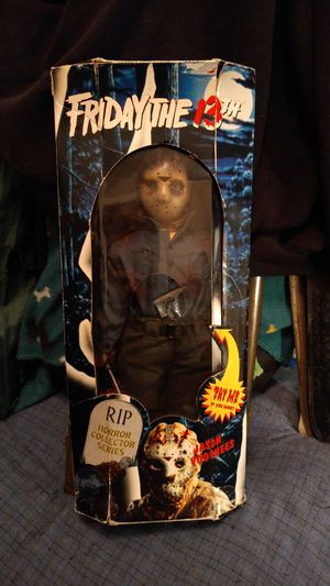 Friday the 13th jason voorhees doll never opened raer for Sale in Lock Haven, PA