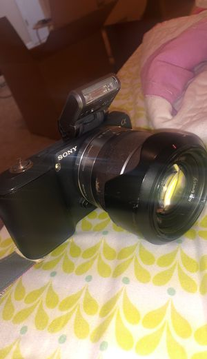 Sony Alpha NEX-3 (Camera And Lense) for Sale in Tampa, FL