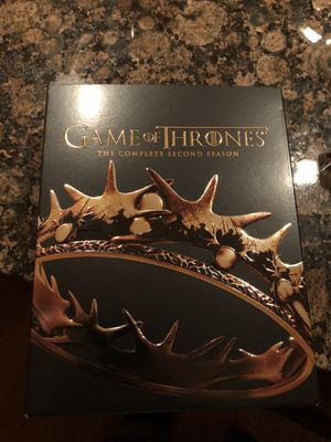 Game of Thrones The Complete Second Season 5 Discs Blu-ray for Sale in Leesburg, VA