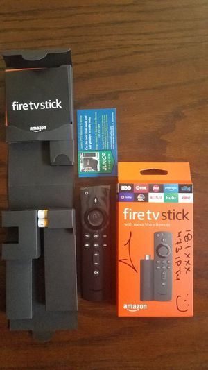 All New Voice Remote with Amazon Fire Tv Stick for Sale in Fort Lauderdale, FL