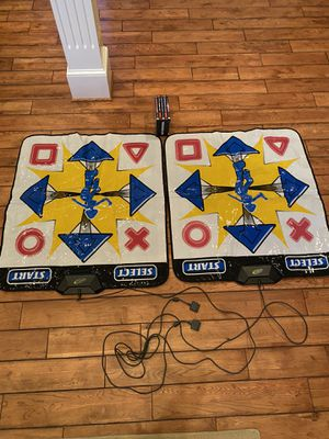 10 PS1 games & 5 PS2 games & dance floor mat for Sale in Aldie, VA