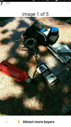 Portable Stove (backpacking/camping) for Sale in Salisbury, MD