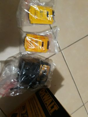 Dewalt 2 baterry 1 charger 70 for Sale in Fullerton, CA