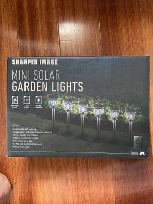 Mini Solar Garden Lights (6) for Sale in Philadelphia, PA