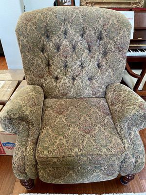Paisley Reclining Chair - optional set for Sale in Turlock, CA