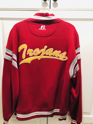 Classic USC Trojans Letterman's Large Jacket! for Sale in Huntington Beach, CA