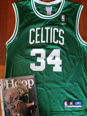 Paul Pierce Boston Celtics NBA basketball Jersey size medium and magazine for Sale in Gresham, OR
