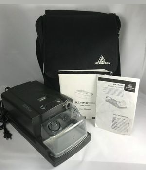 Respironics REMstar CPAP machine with Travel Bag for Sale in Denver, CO