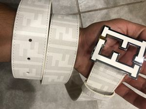 White Fendi Belt *Authentic* for Sale in Queens, NY