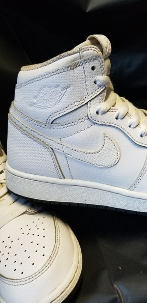 Rare Nike Jordan 1's 5.5y orig. Preforated leather for Sale in San Leandro, CA