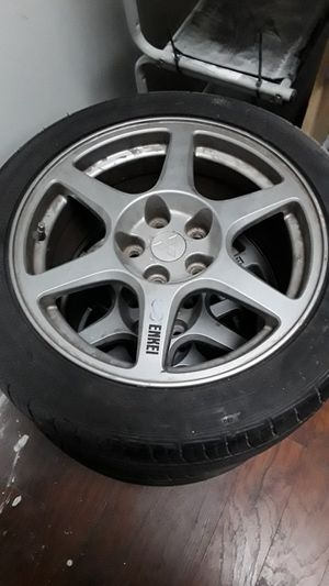 Evo 8 Enkei Wheels for Sale in HOFFMAN EST, IL