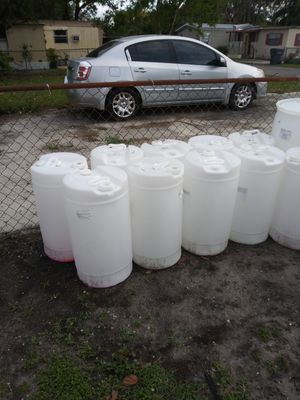 15 Gallon Re8eable Barrels / Drums for Sale in Lakeland, FL