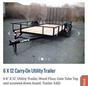 Utility trailer toy hauler for Sale in El Monte, CA