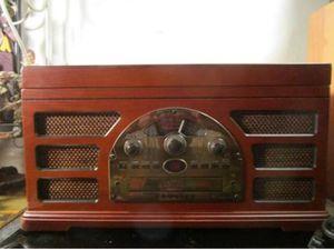 Crosley 5-IN-1 Rochester Record Player W/ Aux Input Radio Tape CD for Sale in Santa Ana, CA