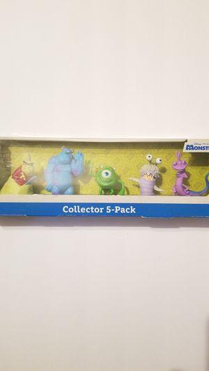Disney Pixars Monsters Inc. Collectors 5 pk for Sale in Spring, TX