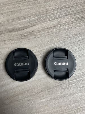 Canon 49mm front lens caps for Sale in Tampa, FL