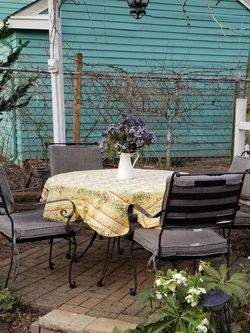 Wrought Iron Outdoor Dining Set for Sale in Portland,  OR